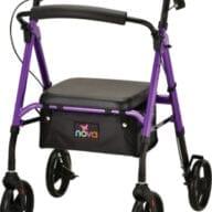 star 8 rollator purple